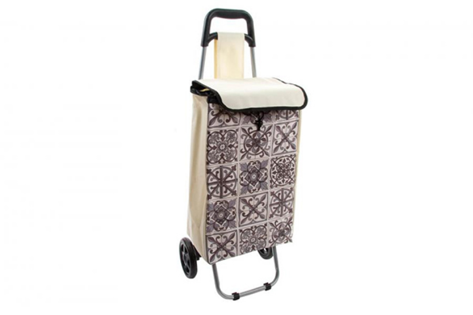 Braon kolica za kupovinu 35x28x95
