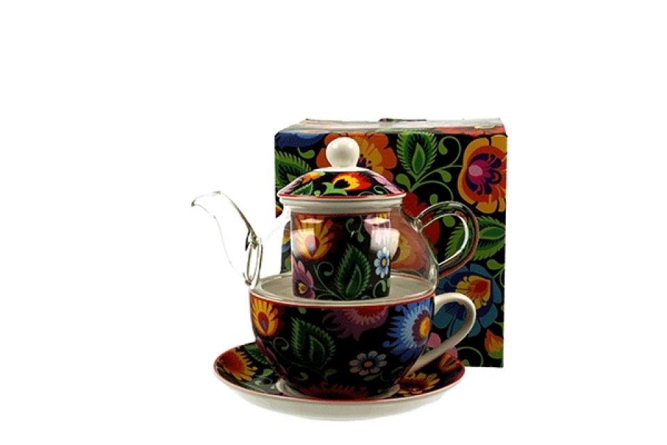čajnik sa šoljom etnic