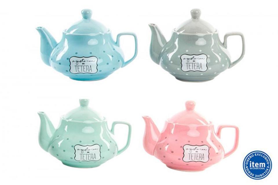 čajnik tufne 19,5x14x14,5 4 boje