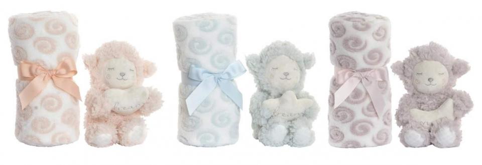 ćebe ovčice u boji13x10x24 100x75 3 modela
