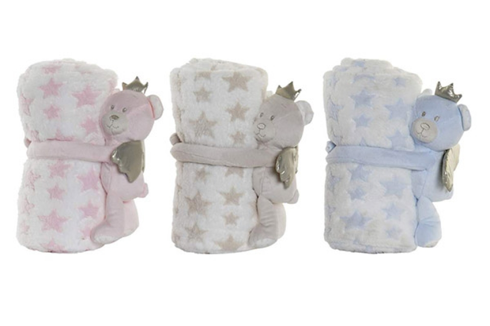 ćebe za bebe teddy 13x100x75 220 gsm. 3 boje