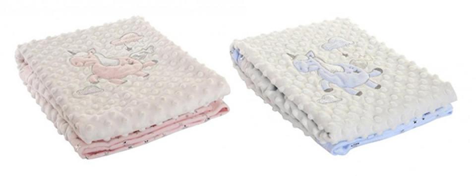 ćebe za bebe unicorn 100x75 2 modela