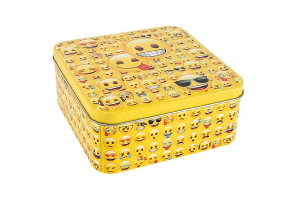 četvrtasta kutija sa smajlijima15x15x6