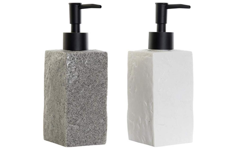 četvrtasti dispenzer za sapun 8x6x18,5 2 modela