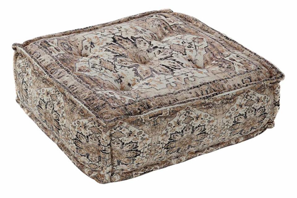 četvrtasti podni jastuk flecos 60x60x23 4,5 kg.