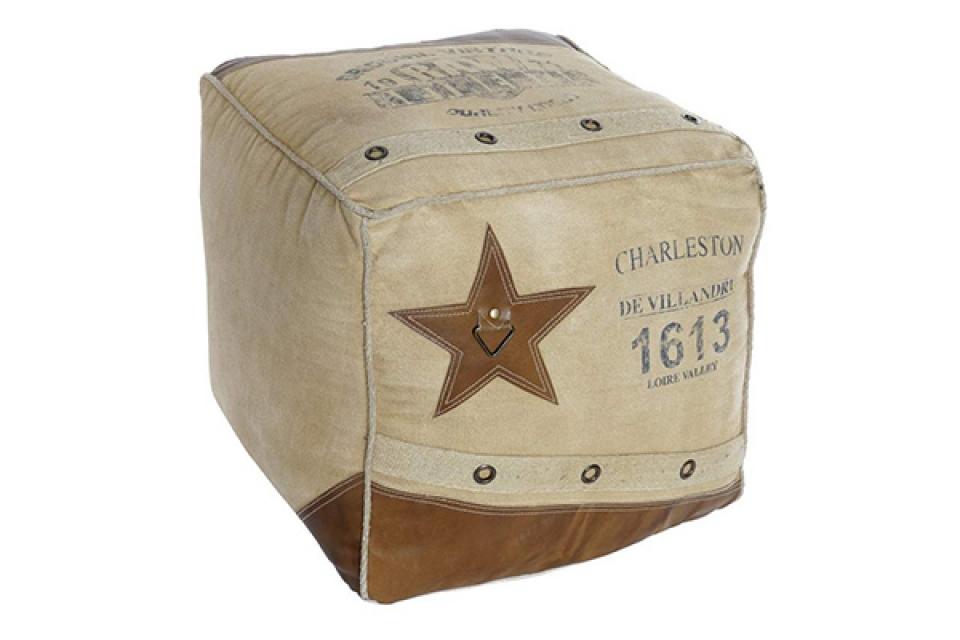četvrtasti podni jastuk zvezda 47x47x38