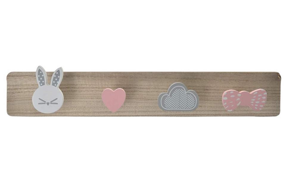 čiviluk little rabbit 45x7x8,5