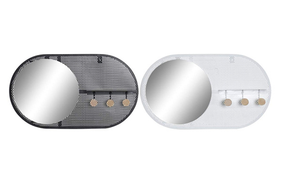 čiviluk sa ogledalom ii 55x9x32 2 modela