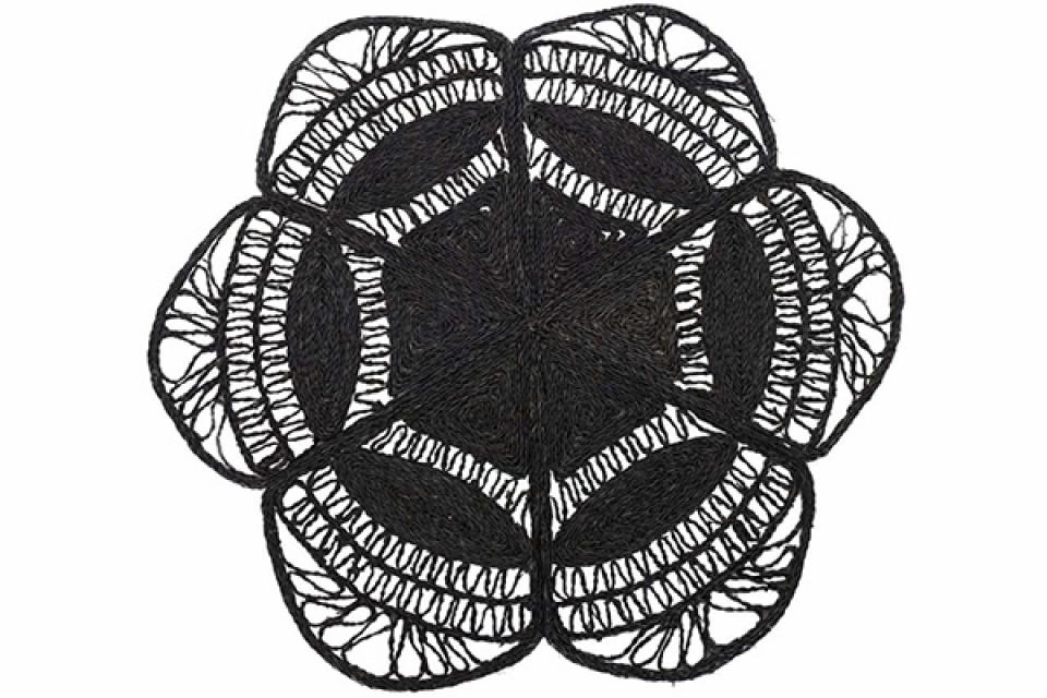 Crna prostirka 150x150