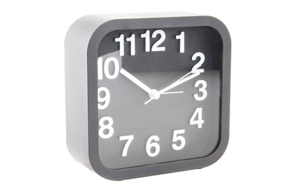 Crni četvrtasti sat 13x5x13