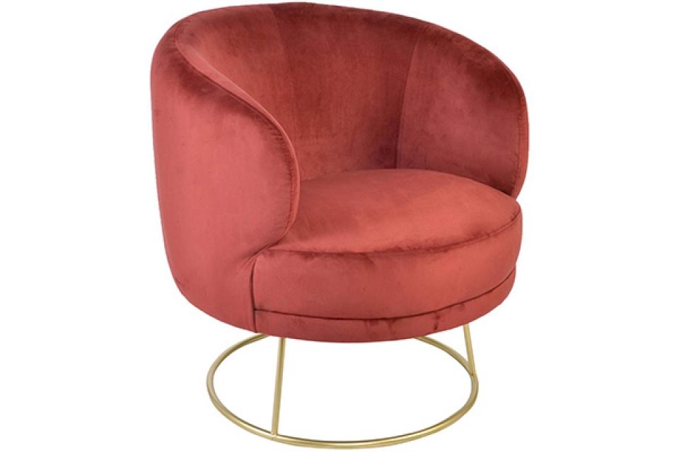 Crvena fotelja 78x72x81