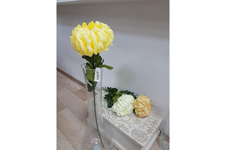 Cvet božur 83 cm 3 boje