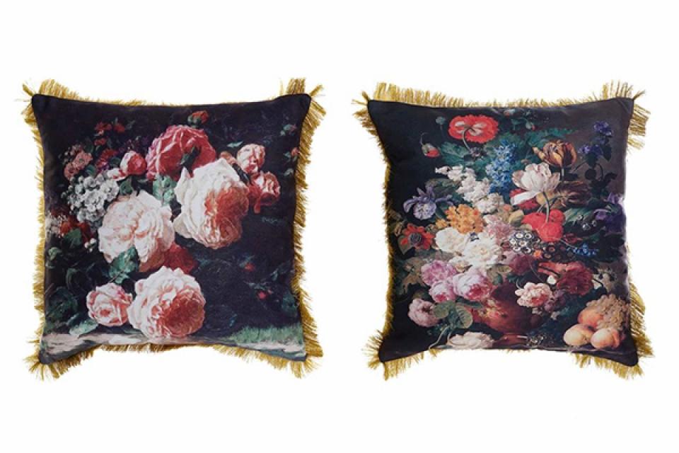Cvetni jastuk sa resama 45x11x45 520 gr 2 modela