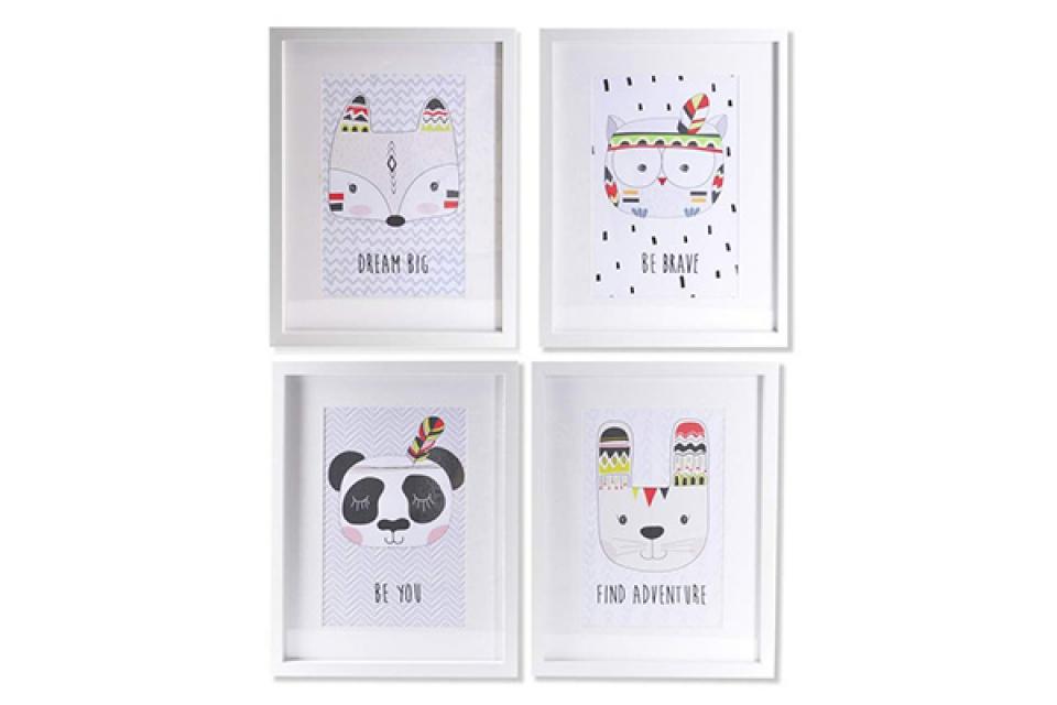 Dečija slika animals 35x2,5x45 4 modela