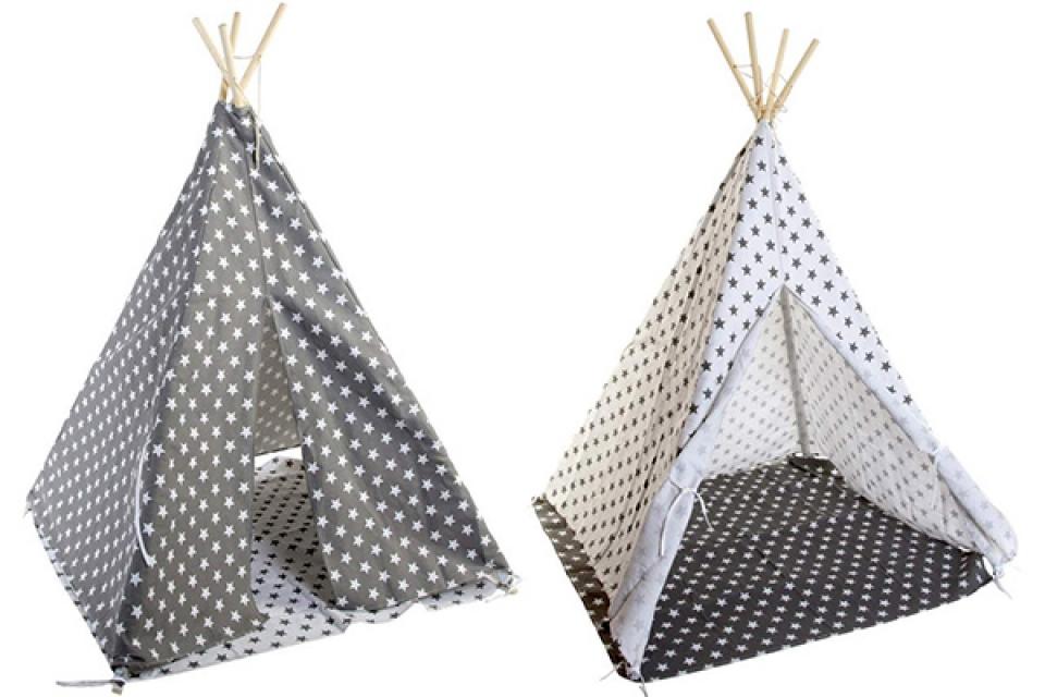 Dečiji šator tipi 120x120x150  2 modela