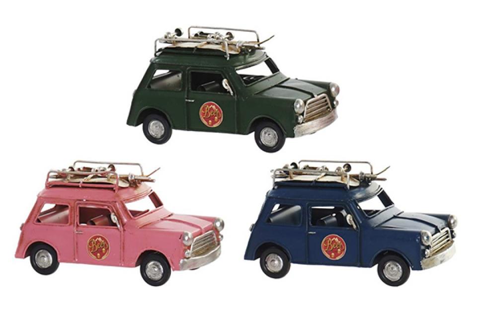 Dekoracija auto u boji 16x7x9 3 modela