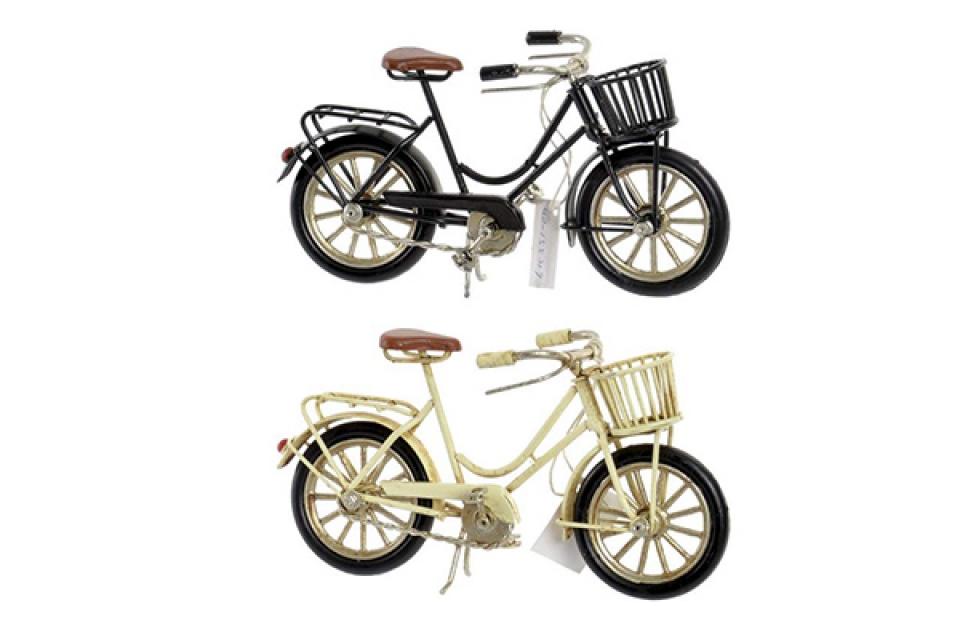 Dekoracija bicikl 16x5,5x8,5 2 boje
