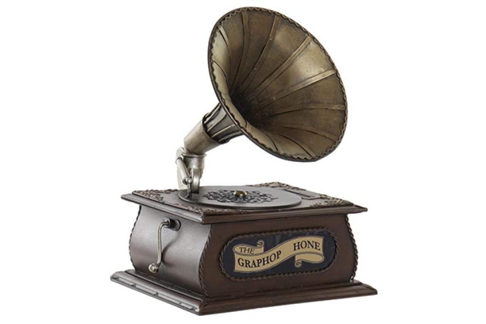 Dekoracija gramofon 17x17,5x22