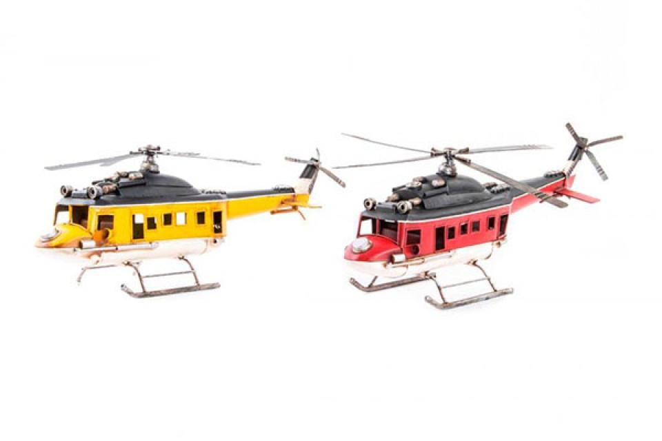 Dekoracija helikopter 41x14x20 2 modela