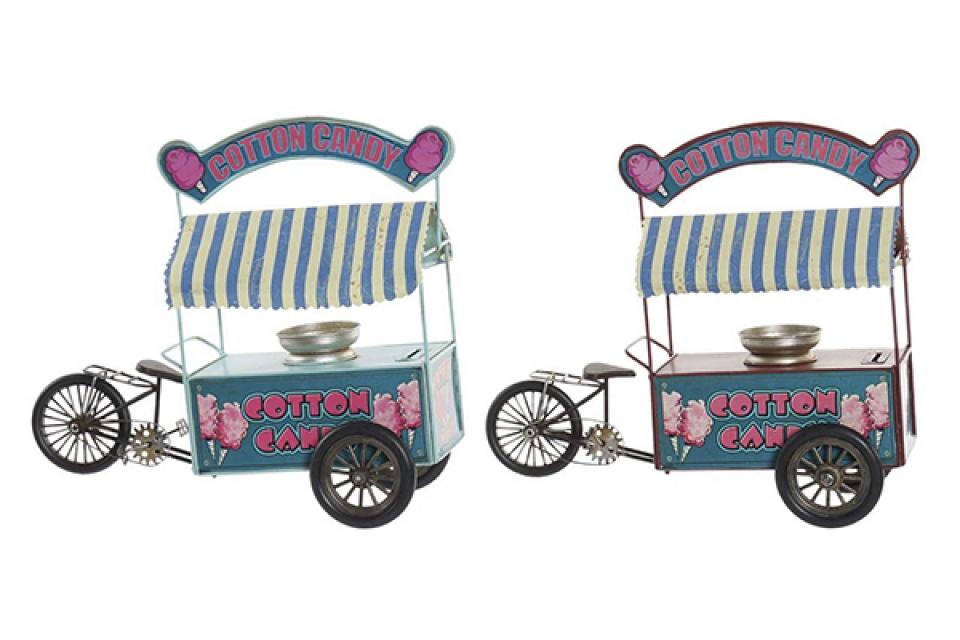 Dekoracija kolica za sladoled 32x13x28 2 modela