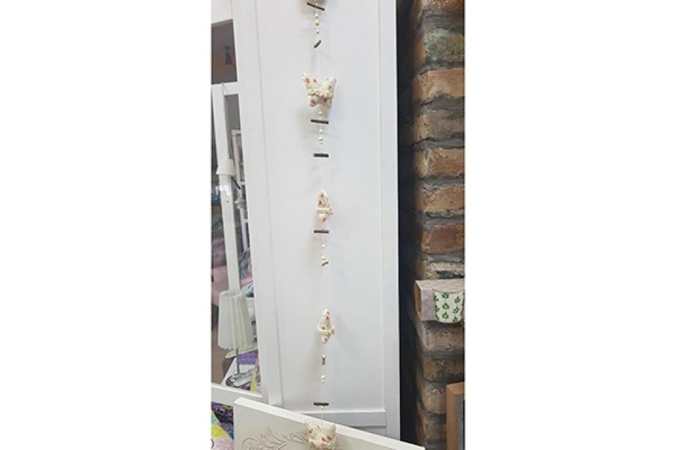 Dekoracija leptir girlanda 114 cm
