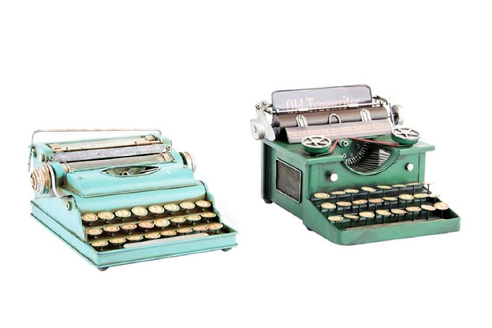 Dekoracija pisaća mašina 25x24x12 2 modela