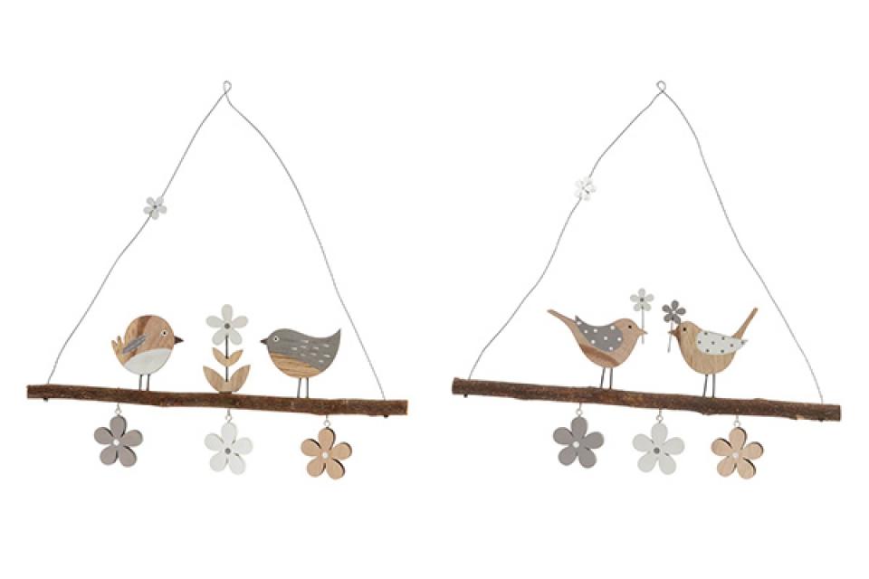 Dekoracija ptice 30 x 28 2 modela