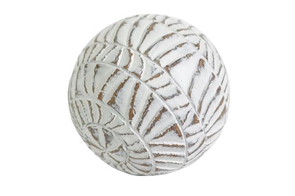 Dekorativna kugla white 11 cm
