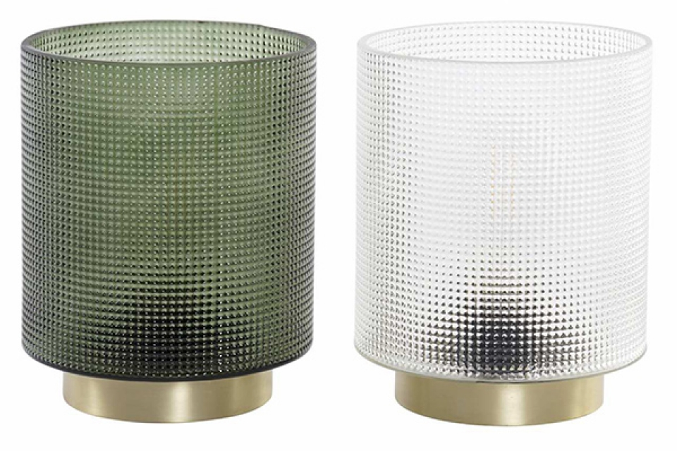 Dekorativna led lampa  12x12x15 2 boje