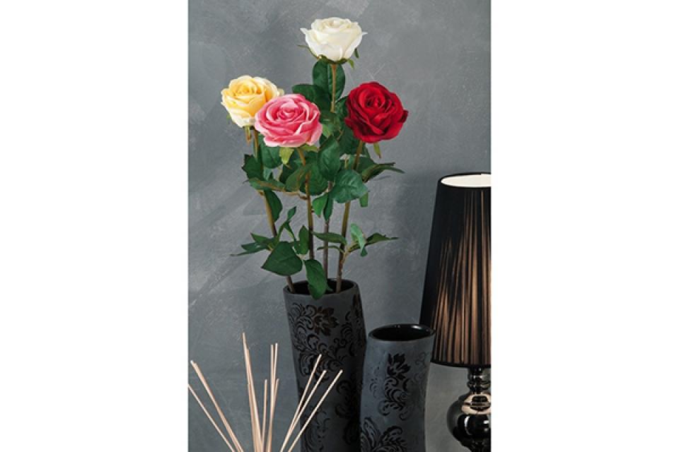 Dekorativna ruža 67 cm 4 boje