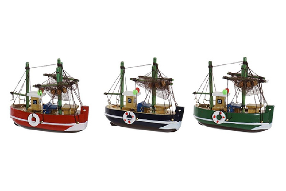 Dekorativni brod 10x4x10 3 modela