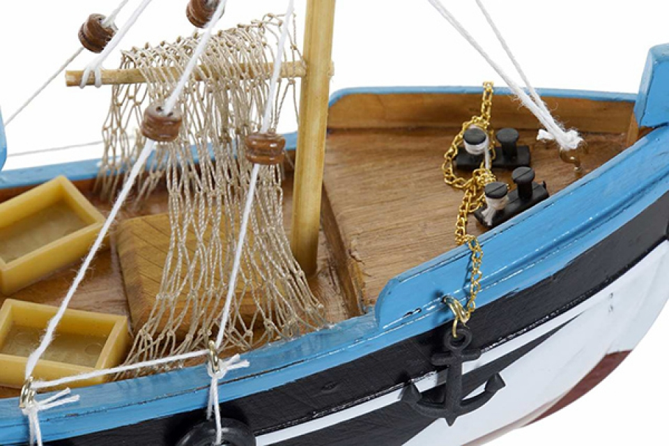 Dekorativni brod 22,5x7,5x18,5 2 modela
