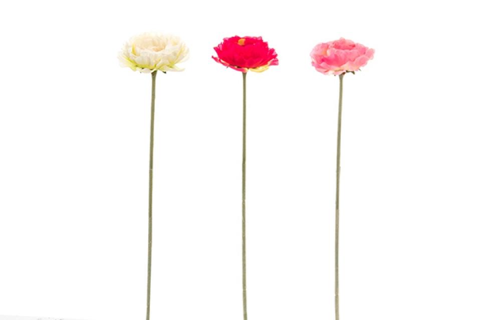 Dekorativni cvet pvc polyester 58x9 3 boje
