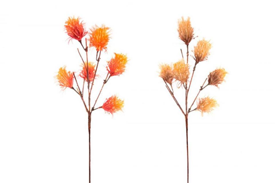 Dekorativni narandžasti cvet 35x105 2 boje