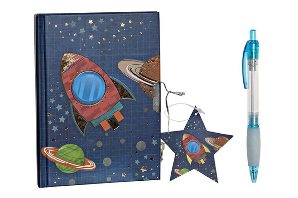 Dnevnik kosmos 14,5x2,5x19,5