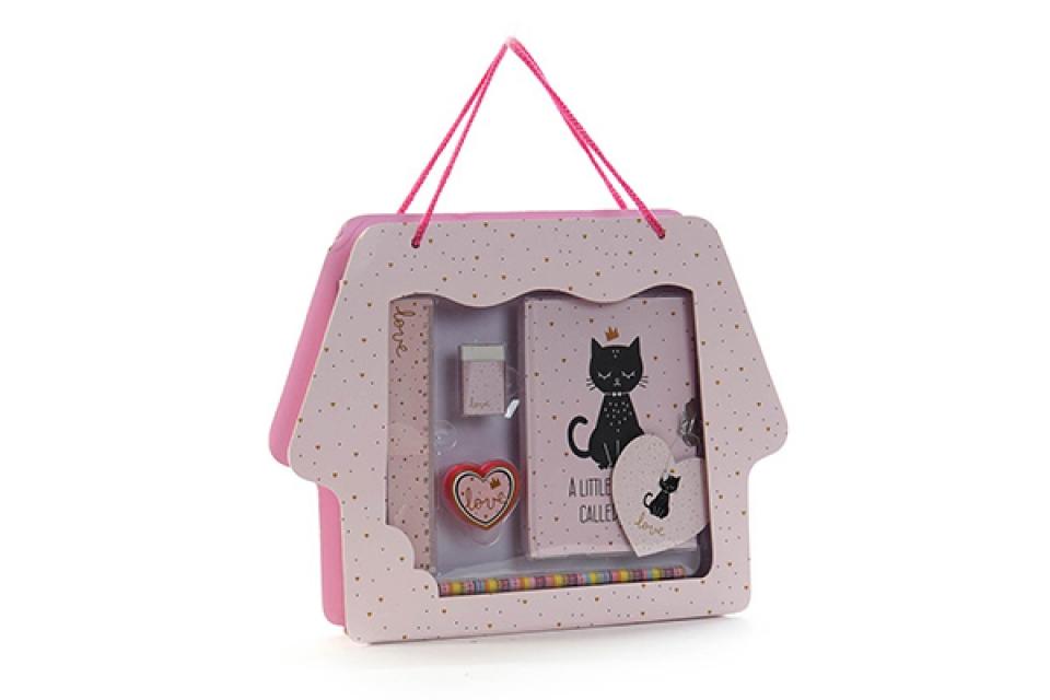 Dnevnik set cat / 6 31,5x4,5x24