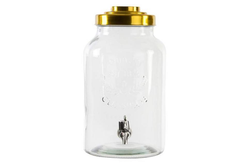 Drink dispenzer glassware 18x18x32