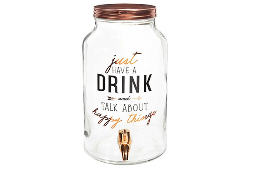 Drink dispenzer happy things 14x25 3l