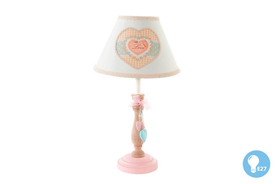 Drvena lampa velvet 23x43 e14