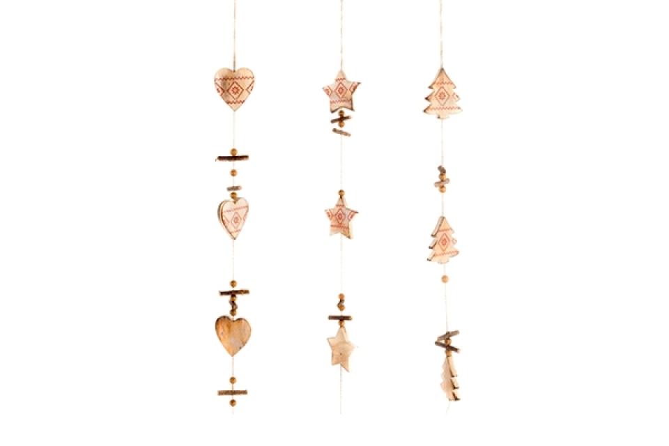 Drvena viseća dekoracija 100cm