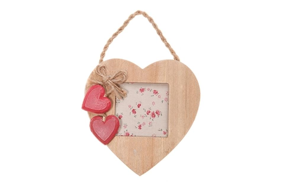 Drveni ram za slike viseće srce