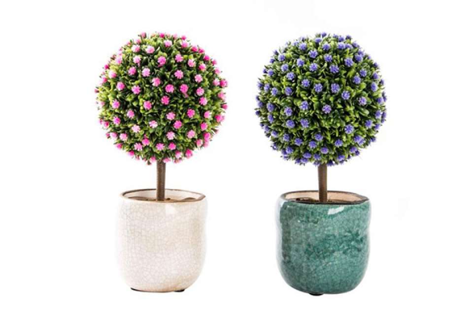Drvo lopta/roze i ljubičasto
