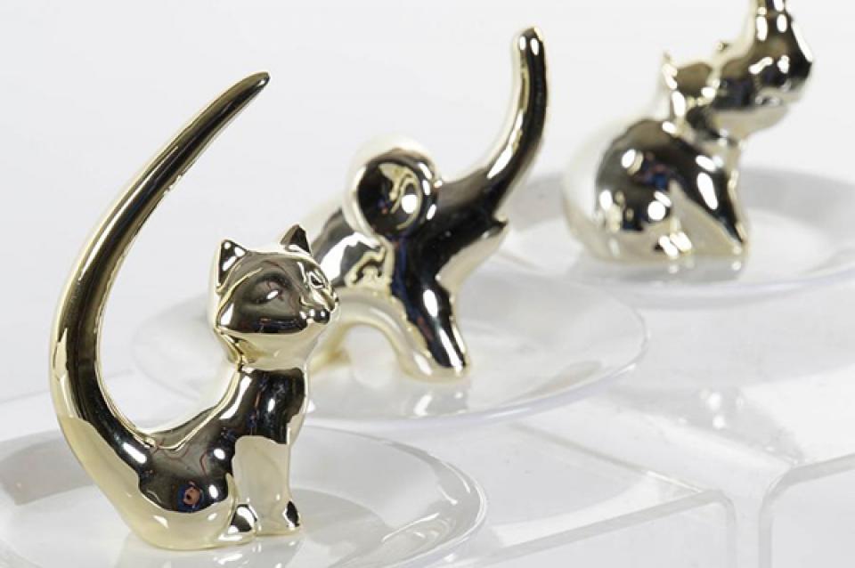 Držač prstenja animal 12x12x11,5 3 modela