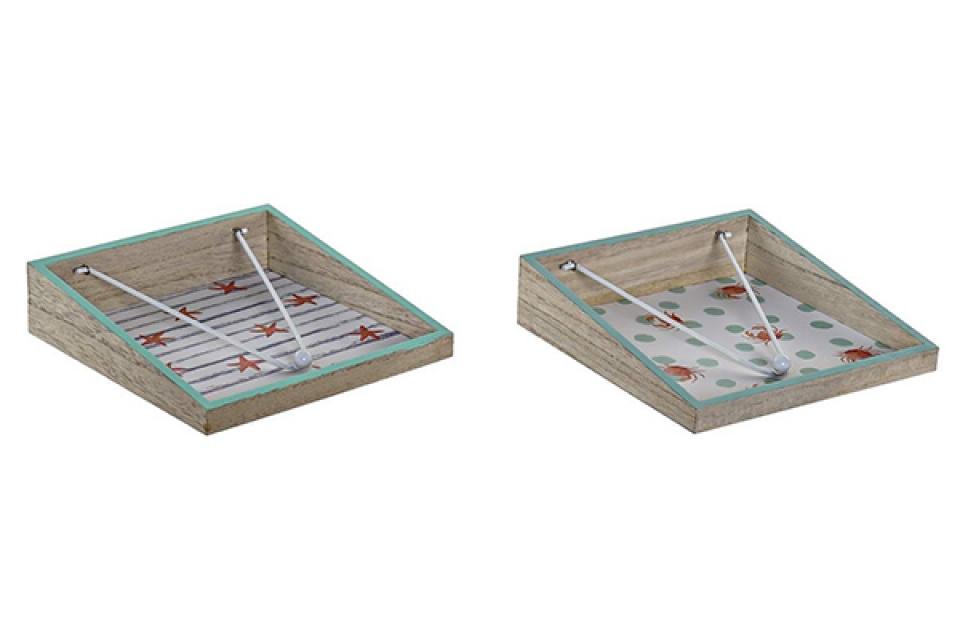 Držač salveta summer 18x18x4,2 18x18x4,2 2 modela