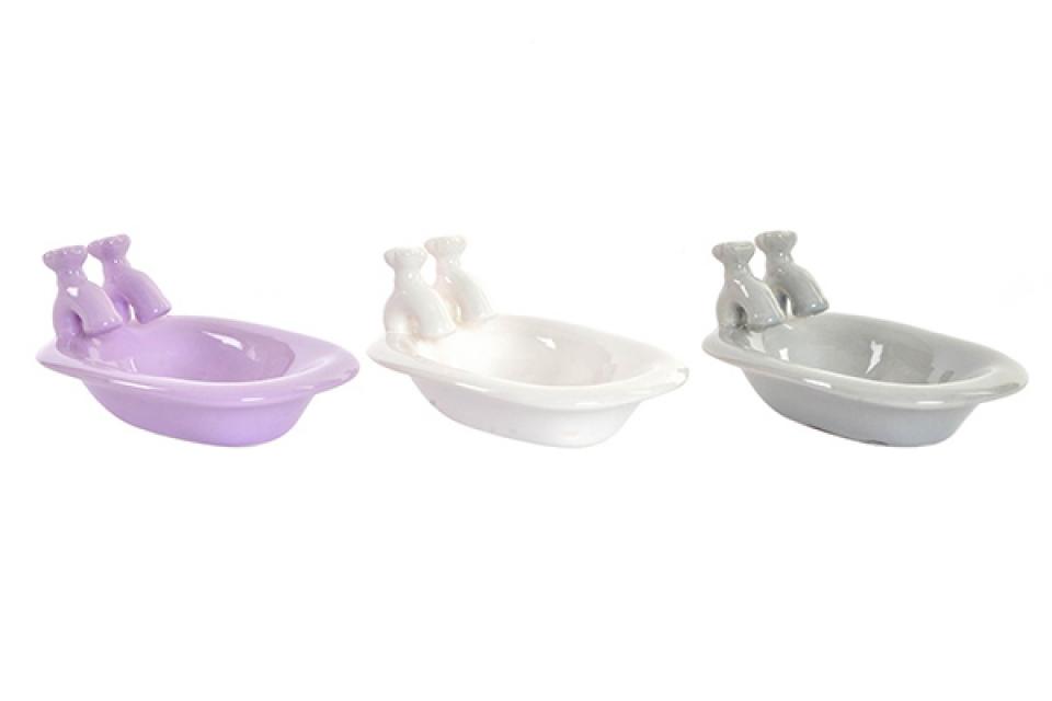 Držač sapuna kada u boji 15x10x8 3 modela