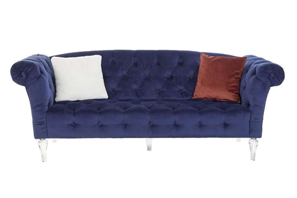 Trosed velvet blue 216x88x74