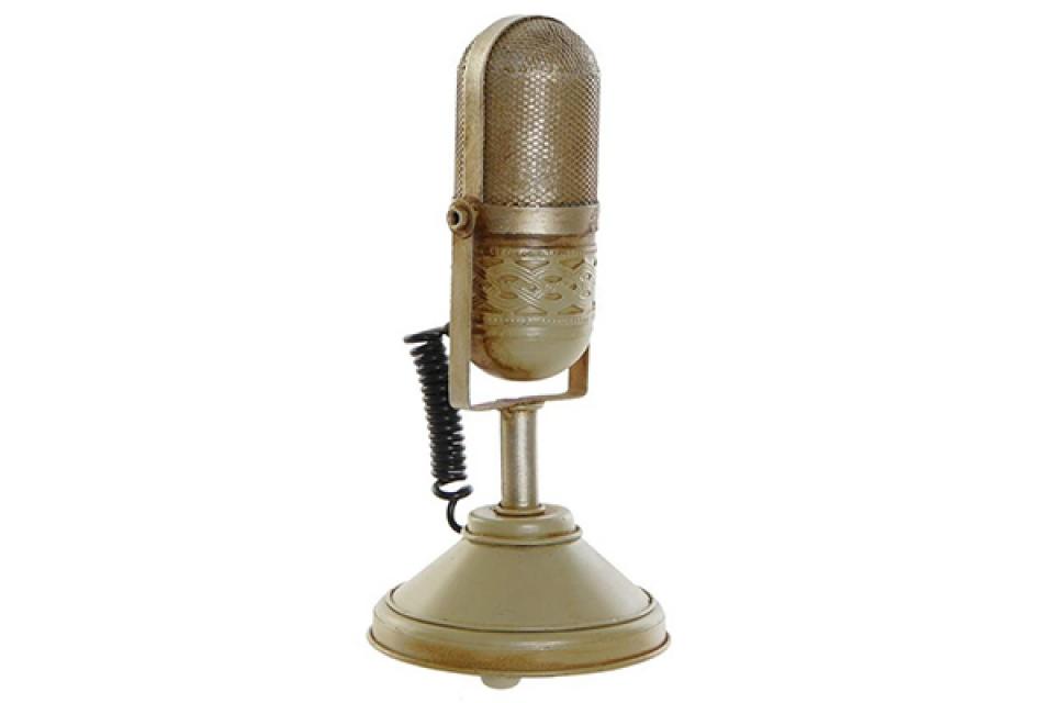 Dekoracija mikrofon 11x11x24