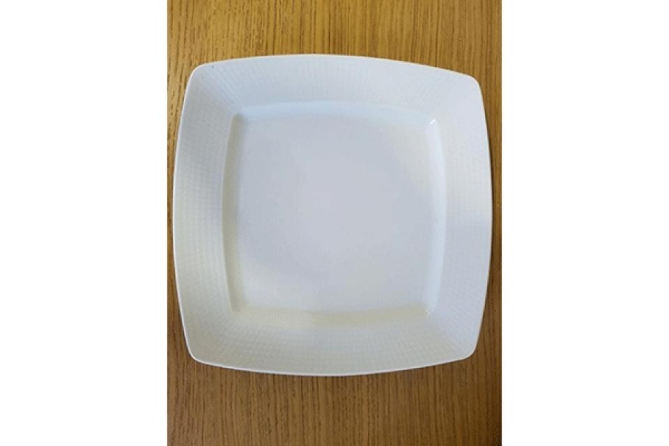 Četvrtasti tanjir