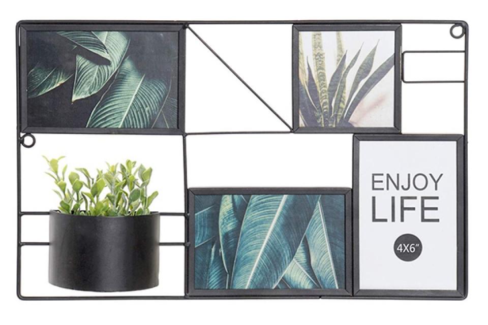 Fam za slike sa biljkom 41x5x25,8