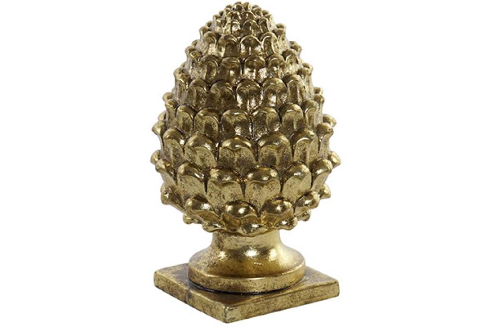 Figura ananas / rezin 15x15x23